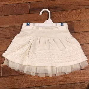 Baby gap sweater skirt